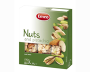 EMCO NUT BAR MIX ANTIOXIDANTE FRUTOS SECOS 3 UN NUTS PISTACHOS
